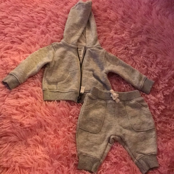 Carter's Other - Carter's gray sweatsuit